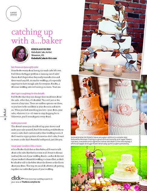 best wedding photographer, The Knot Magazine, portraits by lucinda, wedding photographer, Rebekah Cake Artist, kansas city, olathe, overland park